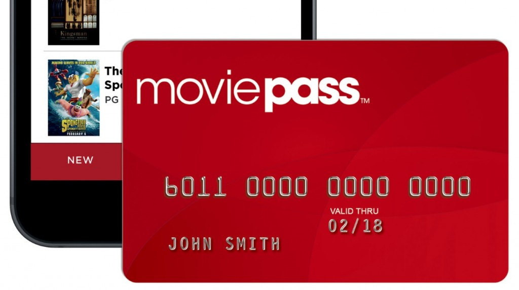 MoviePass allows subscribers to see unlimited movies for $9.95 per month.